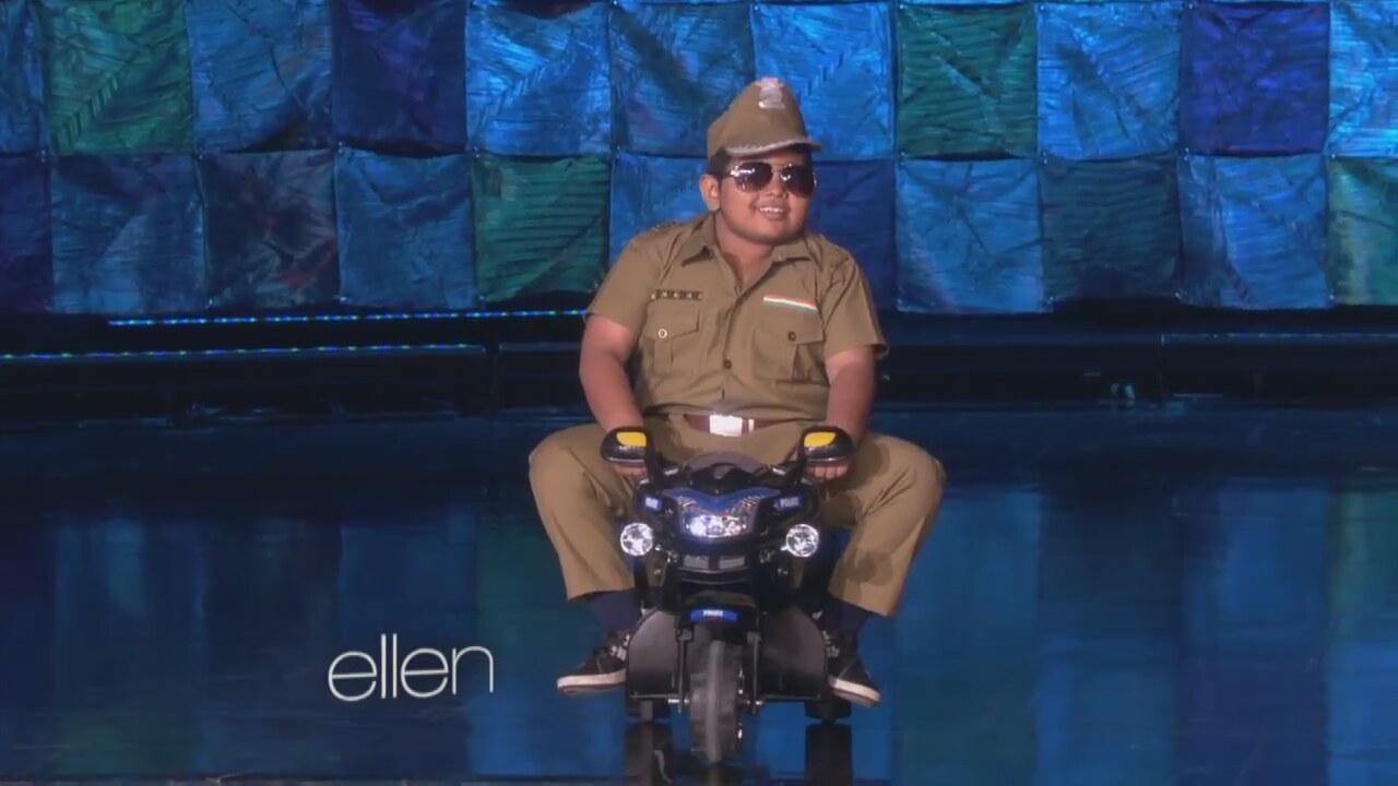 Fenomen Hintli Çocuk Ellen Show'da