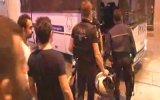 Eylemcilerle polisin yumruk yumruğa kavgası