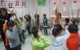 Topkapı DOğa Koleji Anaokulu Orff Eğitimi Ritim Çubuklarıyla Ritim Dansı