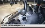 Aşırı Atarlı Halk Otobüsü Şoförü