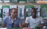 Bursaspor'da Serdar Aziz Ve Traore Taraftarla Buluştu -