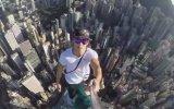En Deli Selfie Hong Kong Skyscraper