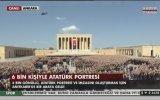 6 Bin Kişiyle Yapılan En Büyük Atatürk Portresi