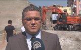 Riskli binaları törenle yıktılar - IĞDIR