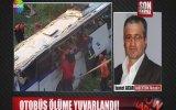 Otobüs Ölüme Yuvarlandı
