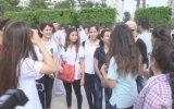 Festivale katılan sanatçılar Atatürk Anıtı'na çelenk sundu - ADANA