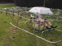 Epey Gürültülü de Olsa İnsanlı Uçabilen Süper Hava Aracı
