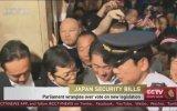 Japon Ordusuna Savaş Yetkisi Parlamento'yu Karıştırması