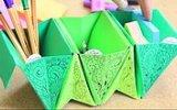 Origami Akordeon Kalemlik