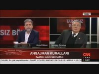 Komutandan Ahmet Hakan'a Kapak Gibi Cevap
